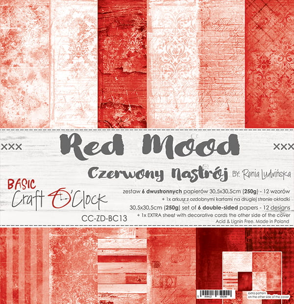 Red Mood 12x12