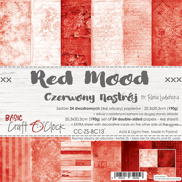 Red Mood 8x8
