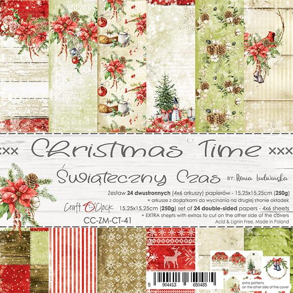 Christmas time 6x6
