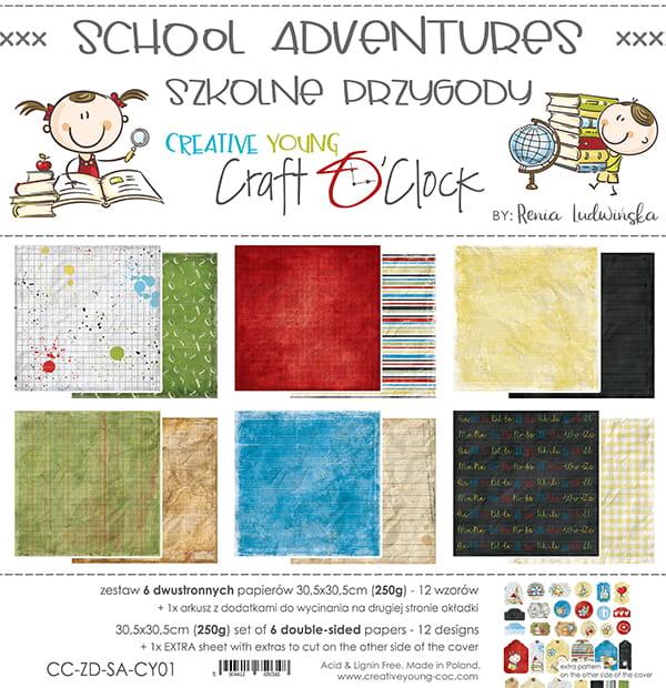 School adventures 12x12