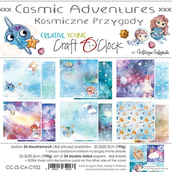 Cosmic Adventures 8x8