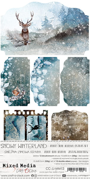 Snowy Winterland Junk journal