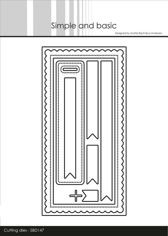 "Simple and Basic die ""Mini Slimcard"" SBD147"