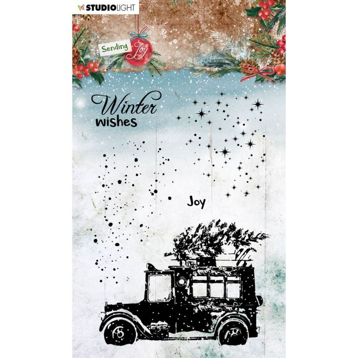Winter wishes STAMP54