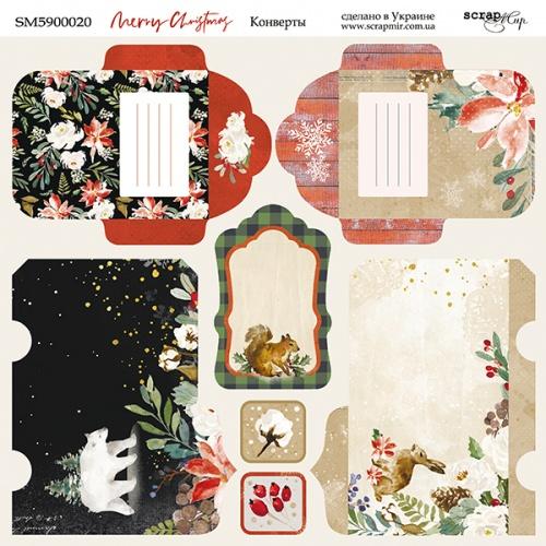 Merry christmas envelopes SM5900020