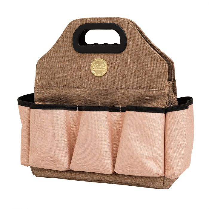 Crafter's bag Tote bag Taupe and pink