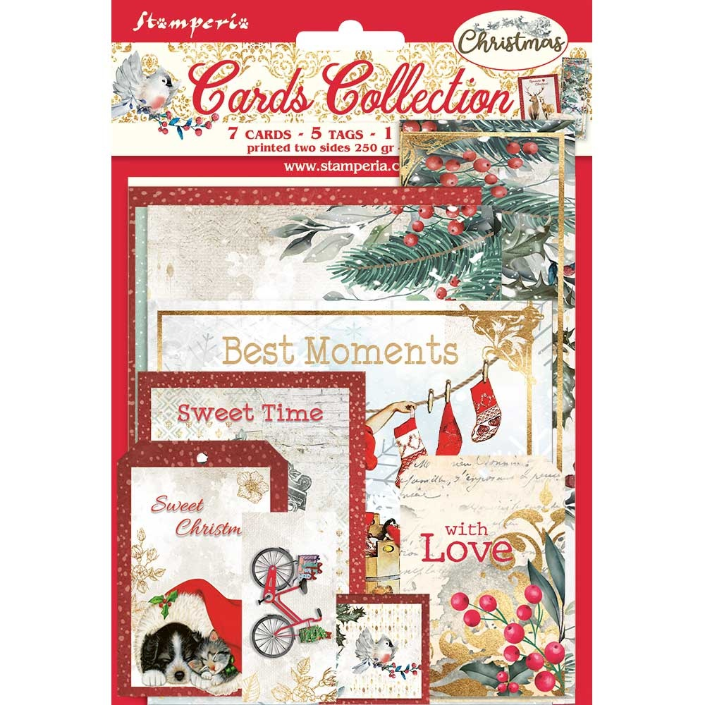 Stamperia Romantic Christmas Cards