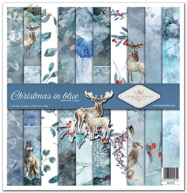 Christmas in Blue