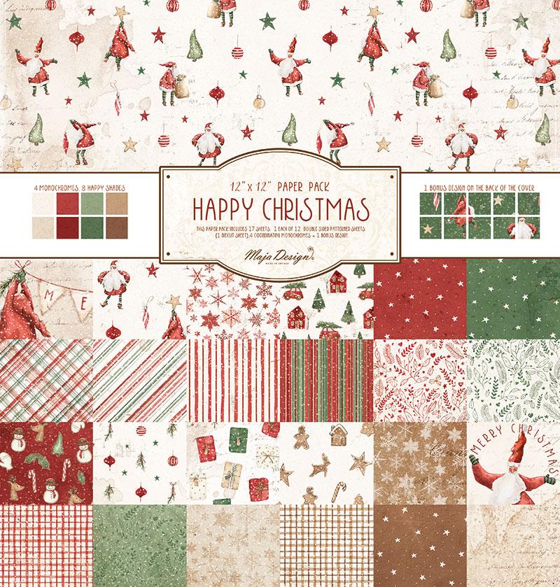 Happy Christmas 12x12