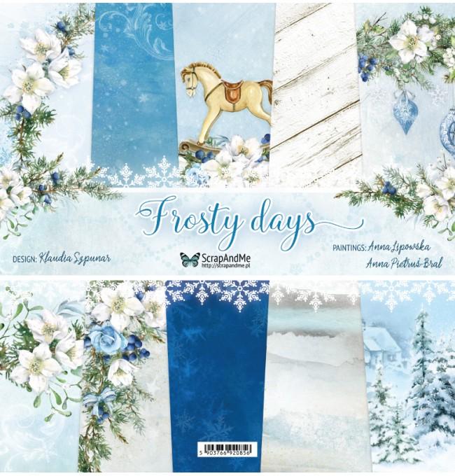 Frosty Days 12x12