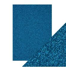 Craft Perfect A4 Glitter Card - Midnight Topaz