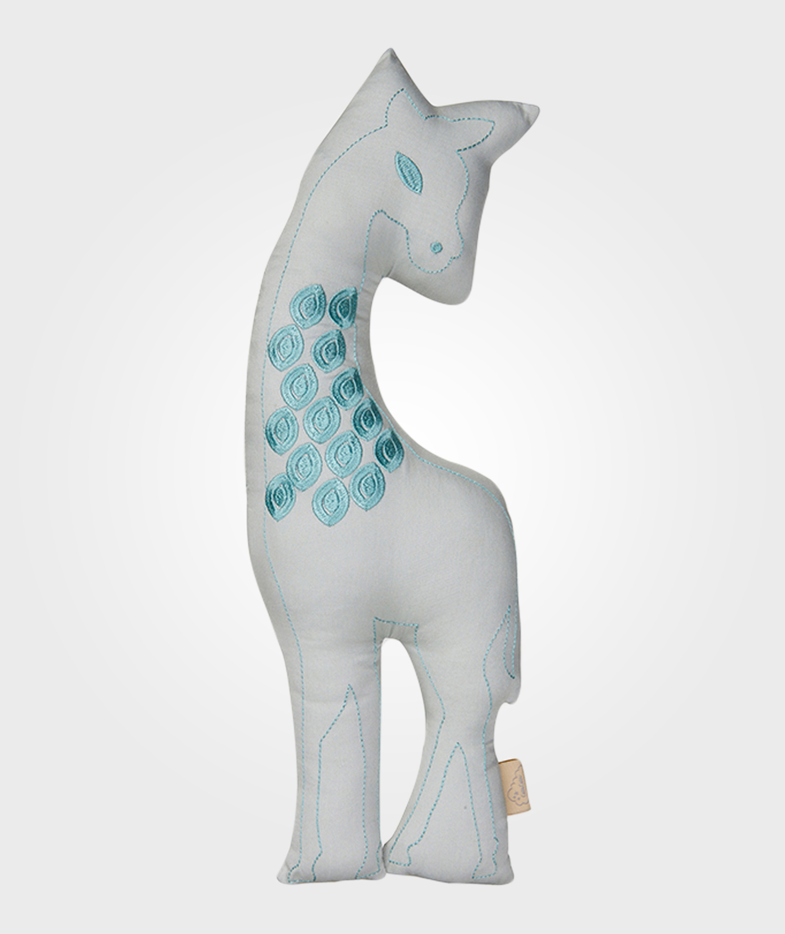 Cam cam - Kudde grön giraffe