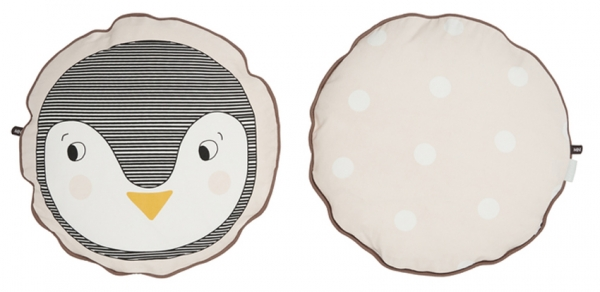 OYOY - Kudde rund pingvin