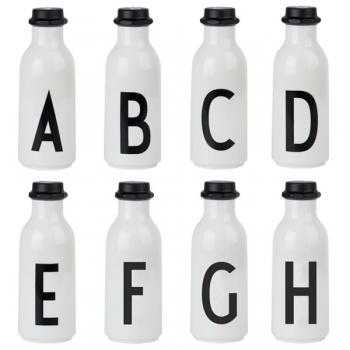 Design letters - vattenflaska