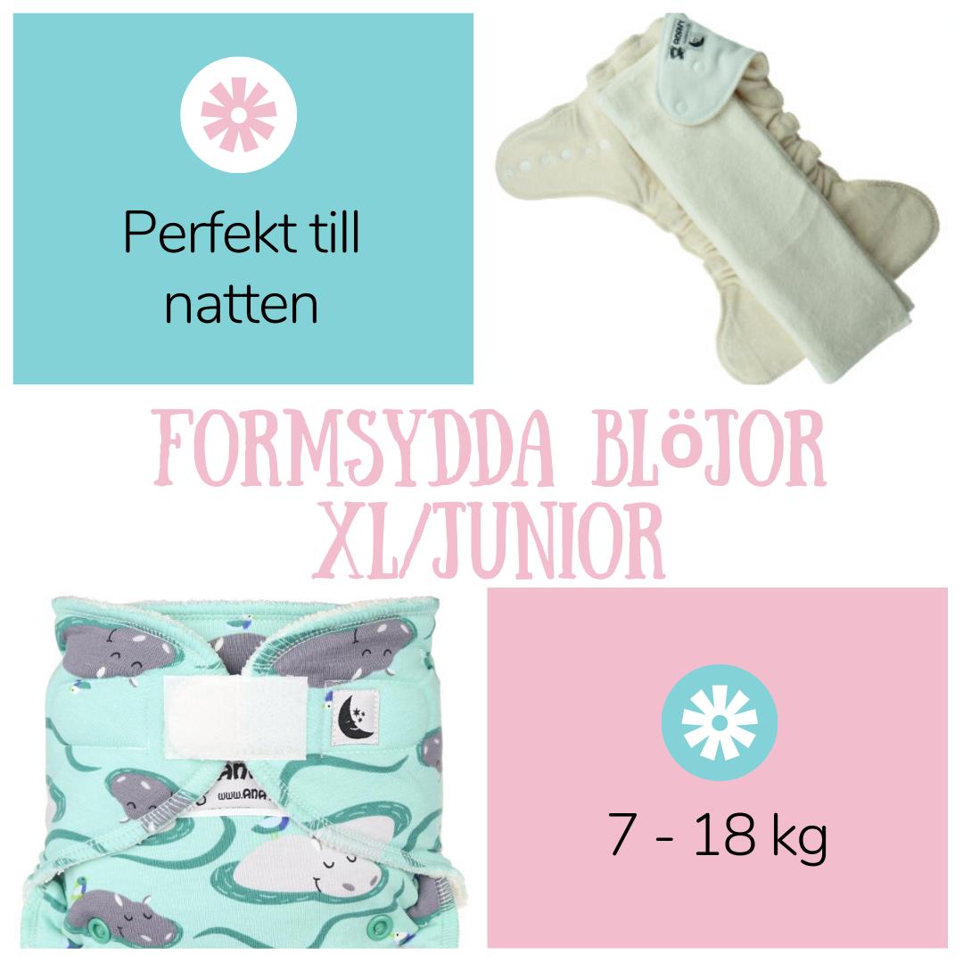 XL/ Nattblöjor - Fluffrumpan