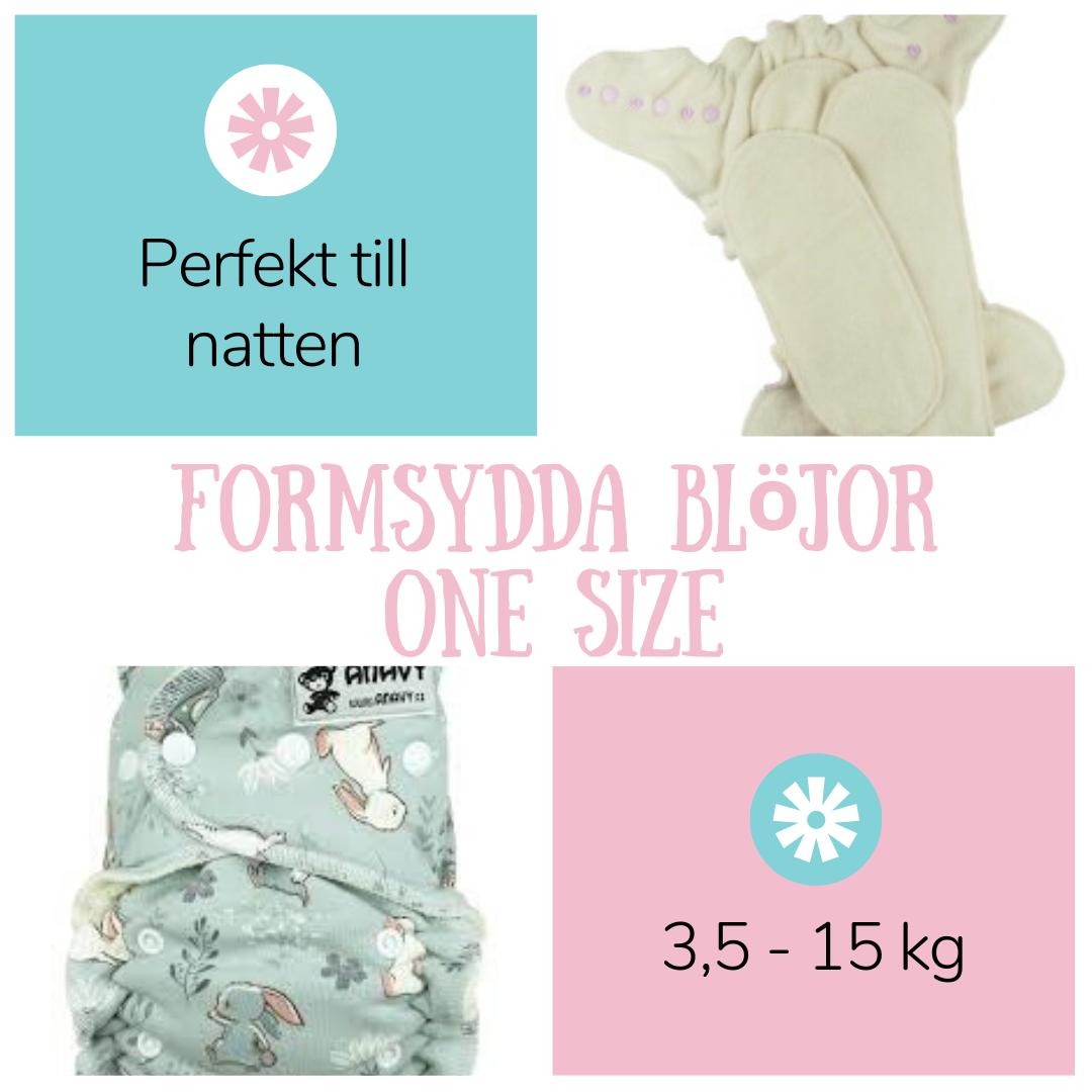 Formsydda blöjor - Fluffrumpan
