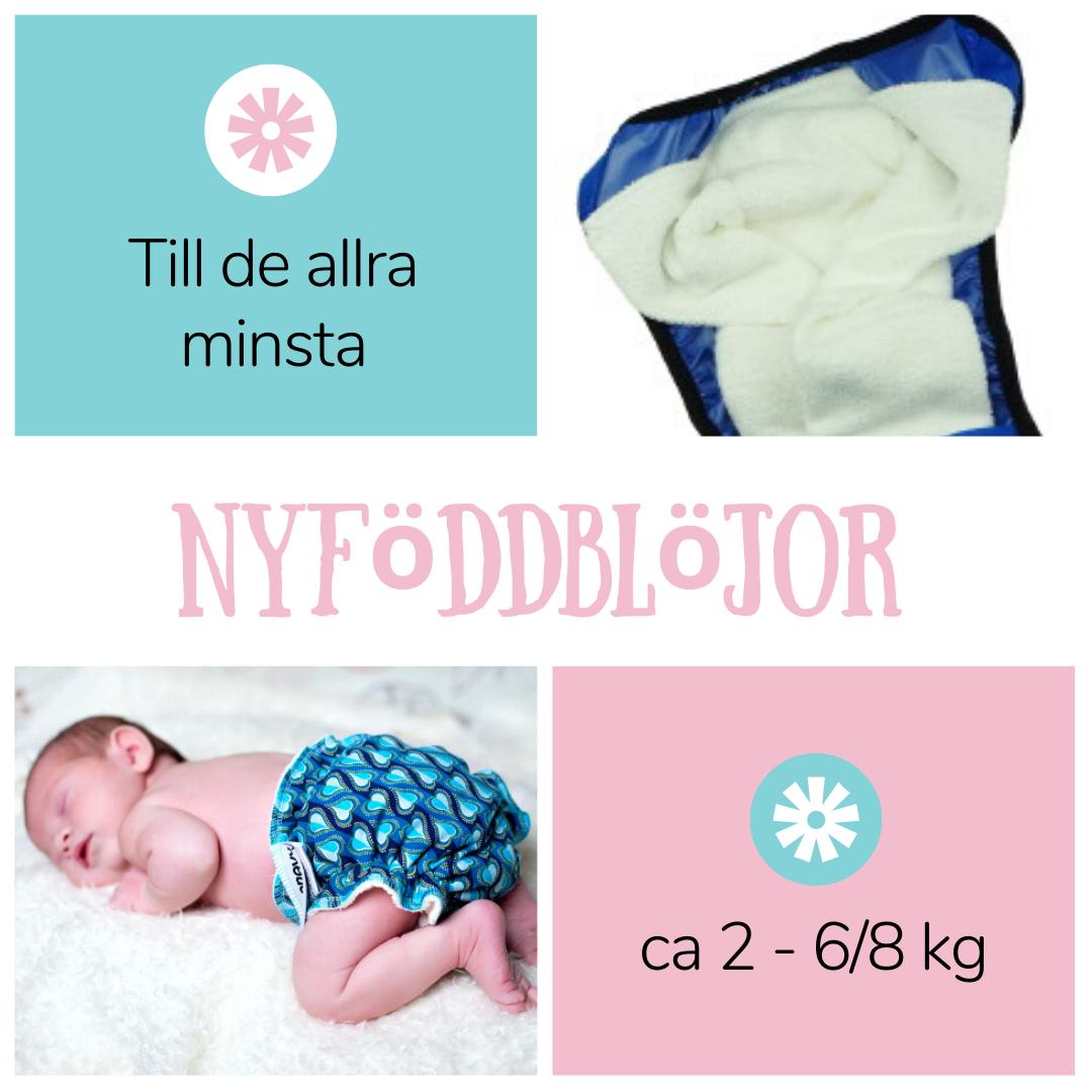 Nyfödd - Fluffrumpan