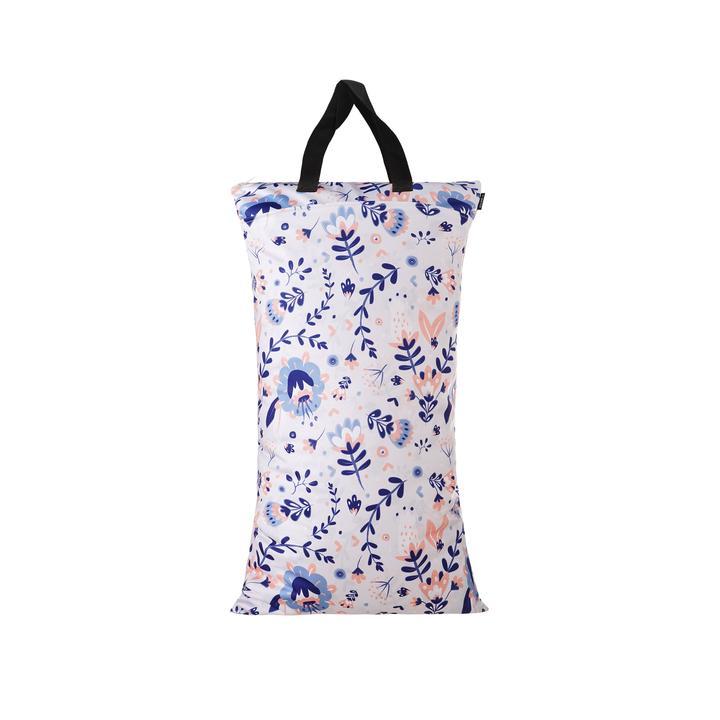 Eco Mini Mono Wet Bag - Large - Dubbla fack