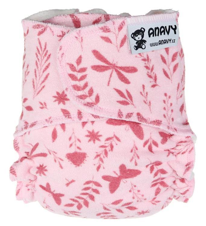 Anavy Formsydd blöja - Snapless - Nyfödd