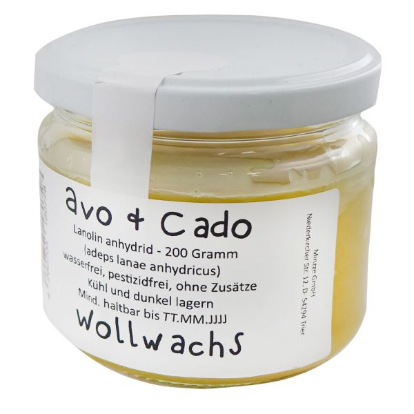 Avo&Cado Lanolin - 200g - Glasburk