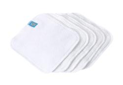 5 tvättlappar - Mommy Mouse - Olika Material