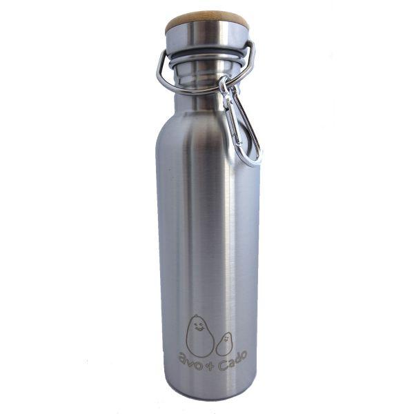 Avo&Cado Vattenflaska - 750ml - Stainless steel