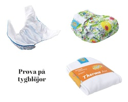 Prova på tygblöjor - Mommy Mouse