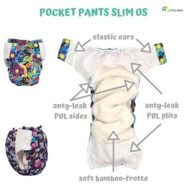 Slim Bird - Pocket - Olika mönster