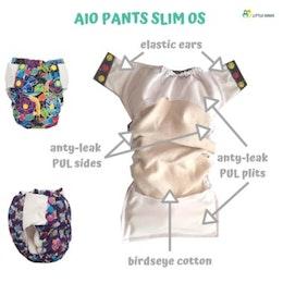 Slim Bird - AIO - Olika mönster