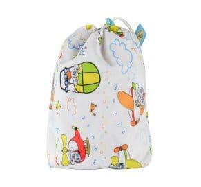 5 tvättlappar med wet bag - Mommy Mouse