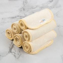 Alva Baby Bambuinlägg - 3 Lager - 5 Pack