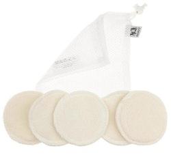 Anavy Paket med Rengöringspads och tvättpåse