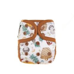 Eco Mini Pul-skal - Nyfödd - Dubbla resår
