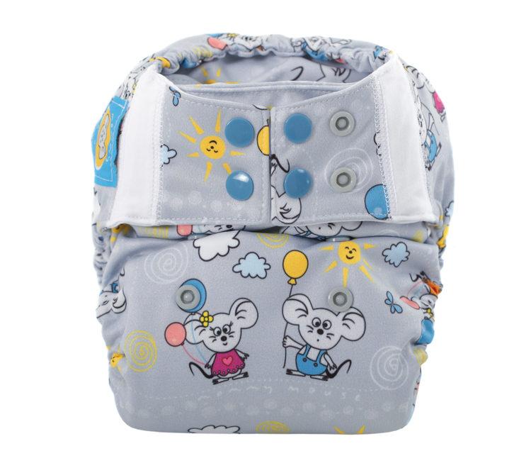 Mommy Mouse Pocket - One Size - Fleece