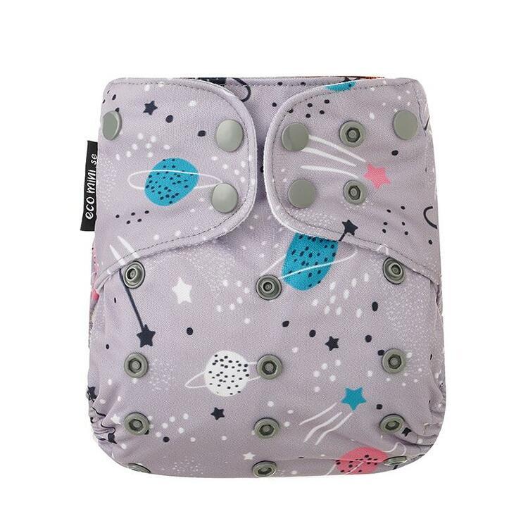 Eco Mini - Pocketblöja - Fuskmocka