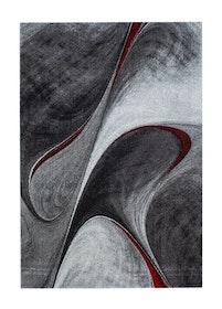Barth Volante Röd - Maskinvävda Mattor