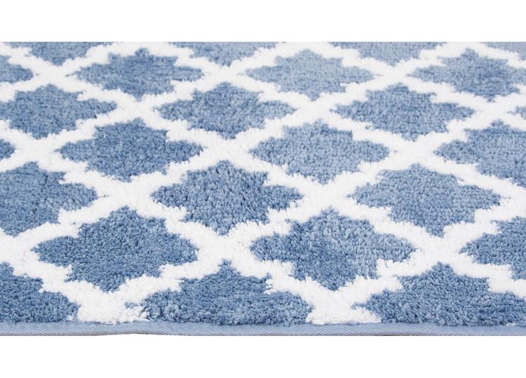 Marocko Denim Blå 50x80 - Badrumsmattor
