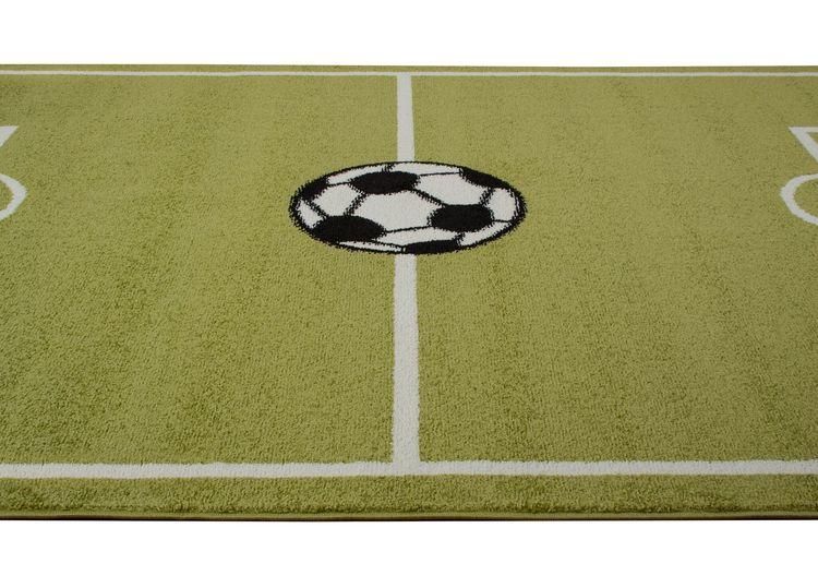 Tale Football 133x190 Grön - Barnmattor