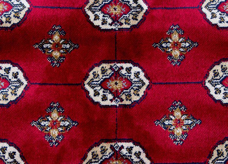 Orient Boccara Röd - Konstsilkesmattor