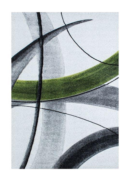 Fable Sketch Grön - Maskinvävda Mattor