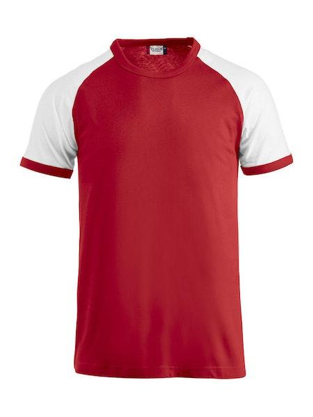 T-shirt Raglan med tryck