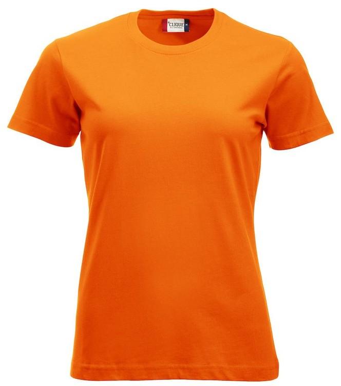 "Dam T-shirt ""Classic"" Utan tryck"