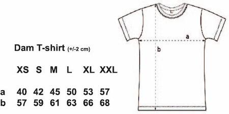 """Dam T-shirt """"Förskoleupproret!"""" """"Fyndhörnan"""""""