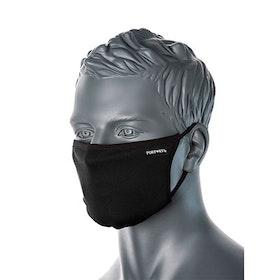 Svart Ansiktsmask med egen text