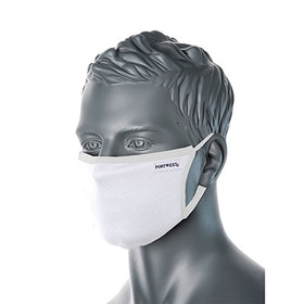 Vit Ansiktsmask med egen text