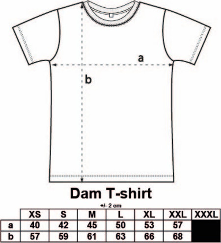 "Turkos Dam T-shirt Classic ""SCOTTS"""