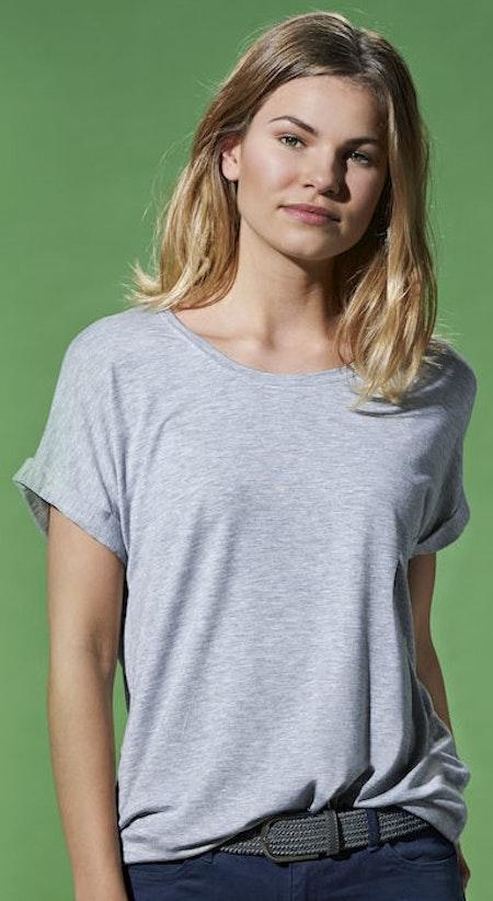 """Grå Dam T-shirt Katy """"ORIENT"""""""