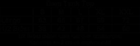 "Dam TankTop Vit ""BLACK-INGVARS"""