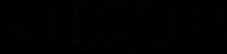 """Blå Cardigan Active """"Micke Ahlgrens"""" rygg"""