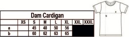 """Dam Cardigan """"Förskoleupproret!"""""""